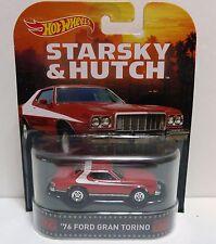 Hot Wheels Starsky and Hutch 76 Ford Torino 1:64 Diecast Movie Car