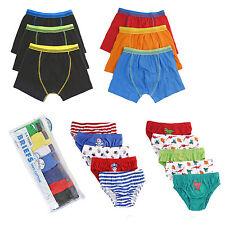 RAGAZZI E BAMBINI pantaloncini boxer intimo slip di cotone pantaloni CONFEZIONE