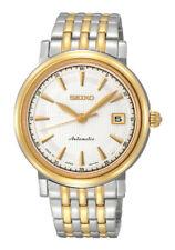 Seiko Presage Automatic SRP116 SRP116J1 Men Sapphire 2 Tone Watch 100m JAPAN