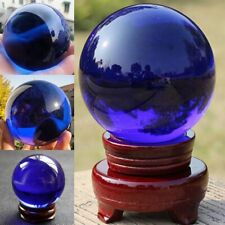 Asian RARE Natural Quartz Clear Magic Crystal Glass Healing Ball Sphere 40mm