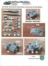 1/72 Modelltrans M109 A1/A2 Rocher/Doher conversion for Riich models