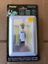 Brand New 3 Pack Promier Light Switch 200 Lumen Cordless Hook & Loop AAA Battery