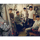 HISTORY-[HIM] 5th Mini Album HEART Ver CD+POSTER+Photo Booklet+Card Sealed K-POP