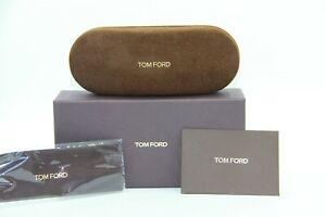 NEW ORIGINAL TOM FORD BOX + CASE + POUCH + CLOTH SUNGLASSES & EYEGLASSES