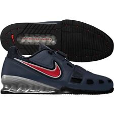 Nike Romaleos II 2 Power Lifting Olympic Shoes (SZ 18) Blue Red 476927-461 USA