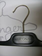 Z ZEGNA DESIGNER BLACK PLASTIC PANT HANGERS  SET 20