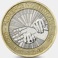 2010 £2 FLORENCE NIGHTINGALE 150 NURSING TWO POUND COIN HUNT 20/32 RARE 2 xx