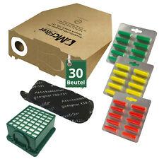 30 Staubsaugerbeutel 30 Duft Filter passend für Vorwerk Kobold VK 130 131 EB351