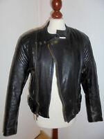 vintage PROTECH 80s Motorradjacke Bikerjacke Lederjacke motorcycle jacket S