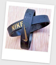 Nike Black Gold Elite Baller band rubber bracelet wristband unisex BEST RATED❤