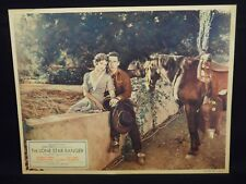 George O'Brien The Lone Star Ranger 1930 Lobby Card VF Western Sue Carol