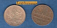 LOT de 2 pc 10 Francs Mathieu 1977 Tranche A + B du qualité TB TTB