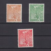GERMANY BERLIN 1952, Mi# 88-90, CV 30€, Olympics, MNH