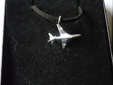 "BAE Systems Hawk 60 c31 English Pewter On 18"" Black Cord Necklace"