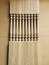 Oak stair spindle Pack of 20 in our Concord style 41x900mm