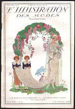 Revue. L'Illustration des Modes. 1921. Georges Barbier