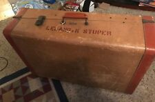 "Vintage  LEED'S TESTED TRAVELWARE NY  Trunk Luggage 29"" x 20"" x 9"""