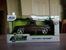 "Jada 1972 Chevy Cheyenne 5"" Pickup Truck Just Trucks Diecast 2019"