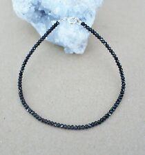 MBC-56 17 cm,Silber,6 mm Lapislazuli  edelstein  Armband