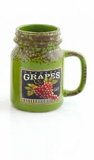lp27622- MENOR Y Pavey Cerámica Fruta Mason jars- Gran Precio
