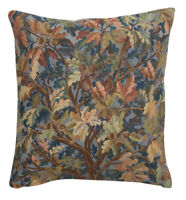 Tree of Life VI Belgian Tapestry Cushion Cover Accent Pillow