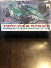 1990 Quaker State Porsche March Indy Car Monogram Kit SEALED 2319 1:24 NEW