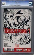 Wolverine (2013 Series) #1 CGC 9.8 Sketch Variant