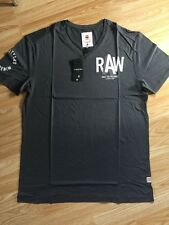 **CLEARANCE** G Star New Men's Grey Regular Fit Small T Shirt RRP £30