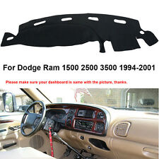 US Stocks Dash Mat For Dodge Ram 1500 2500 3500 1998-2001 DashBoard Cover Fly5D