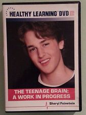 healthy learning  THE TEENAGE BRAIN : A WORK IN PROGRESS  DVD includes insert