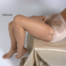 Couture 100 Nylon Velo Elasticizzato Calze da Donna Naturale Taglia unica