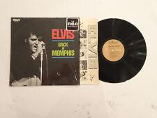 VG++/NM- BEAUTIFUL! Elvis Presley Back Memphis LP RCA TAN LABEL IN SHRINK! Self