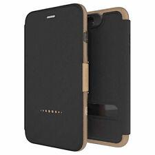Negro/Oro Funda con Tapa Para IPHONE 7 Plus / 8 Libro D3O Oxford Por Gear4
