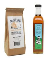 Maple Syrup and Pancake Mix  -  100% Pure Vermont Maple Syrup