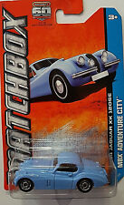 DIECAST MODEL MATCHBOX 54 JAGUAR XK 1205E ADVENTURE CITY 2012 14 OF 120 AGES 3+