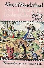 Alice in Wonderland and Through the Looking Glass by Lewis Carroll (Hardback, 1946)