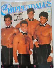 RARE CHIPPENDALES 1989 CALENDAR