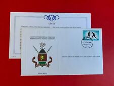 KENYA 1984 FDC FRANKLIN OLYMPIC GAMES LOS ANGELES BOXING