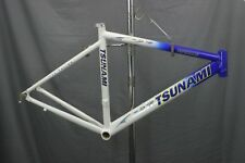 Tsunami Pro Road Bike Frame NEW Racing Triathalon Crit Small TX USA made Charity