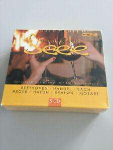 Klassik für die Seele mit Beethoven,Händel,Bach,Mozart,Brahms (2014, 4 CD-Set)