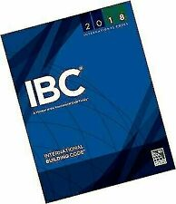 2018 International Building Code International Code Council Series IBC