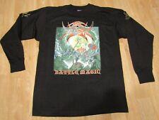 Vintage Bal Sagoth BAttle Magic Longsleeve shirt war metal black metal Large
