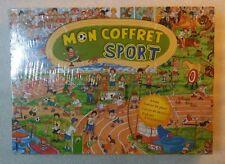 Jeu éducatif Mon Coffret Sport - Histoire , dessins , jeux - Neuf