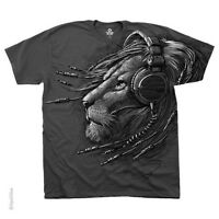 New PLUGGED IN LION T Shirt