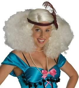 Burlesque Wig Showgirl Fancy Dress Up Halloween Adult Costume Accessory 2 COLORS