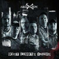 ABSCHLACH! - MEIST KOMMT'S ANDERS (DIGIPAK)  CD NEU