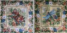Gobelin Tapestry Panels Textile Picture Flowers Crafting Fabric