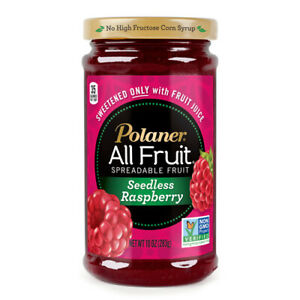 Polaner All Fruit Seedless Raspberry Spreadable Fruit