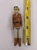 "1980 Vintage 3.75"" Star Wars Rebel Soldier Hoth Action Figure Kenner Hong Kong"