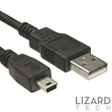 1M USB a Mini B 5 Poli Cavo Dati per Navman Tom Garmin Aa Navigatore Satellitare